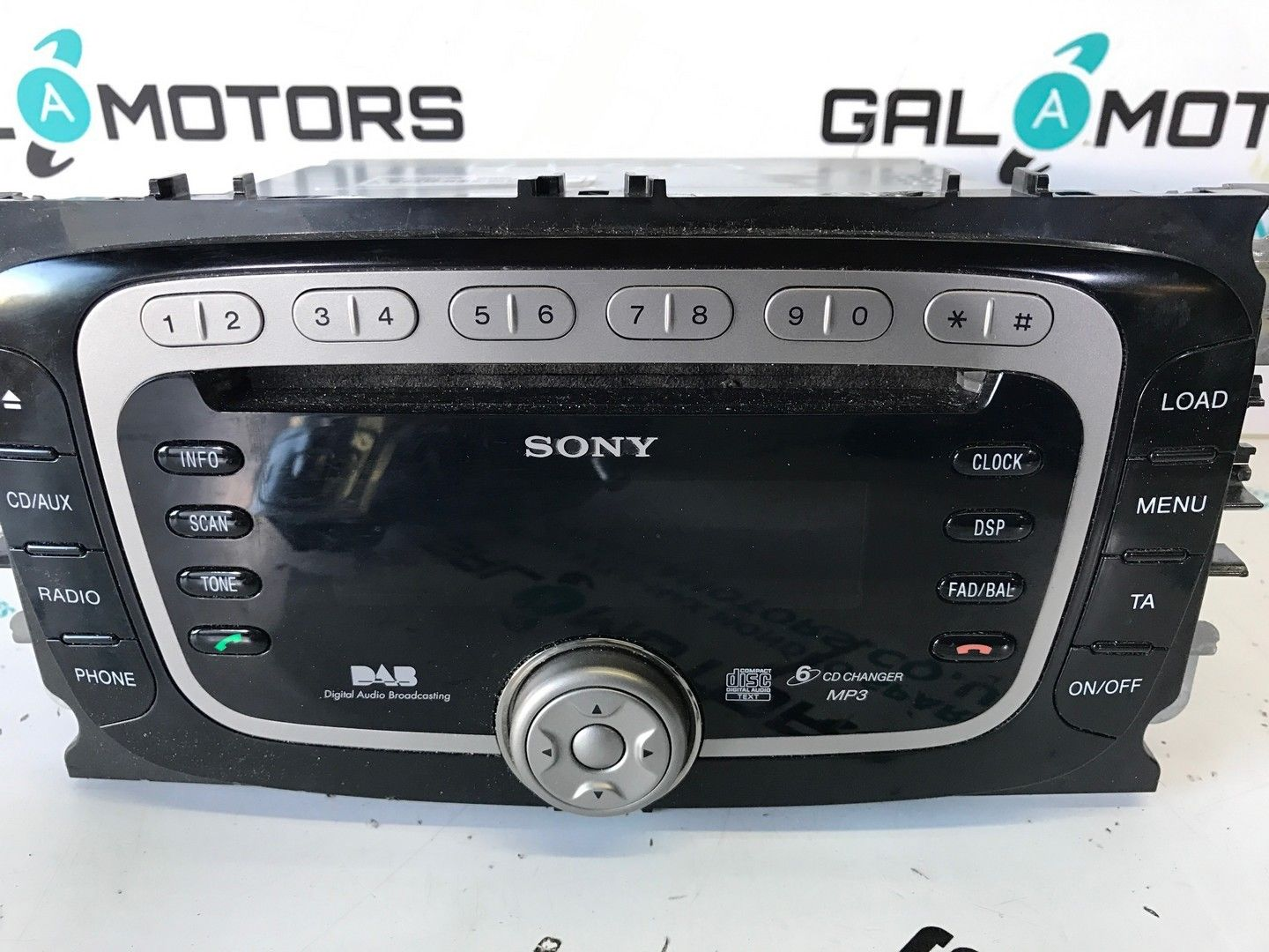 ford galaxy mk3 s max mondeo mk4 2007 2010 dab radio sony. Black Bedroom Furniture Sets. Home Design Ideas